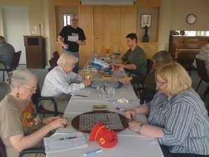 Seattle Scrabble Club celebrates at Horizon House