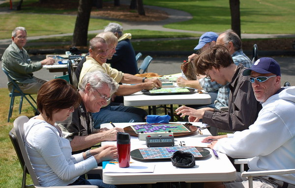 More Scrabble in the sun at 25th Anniversary of Seattle Club