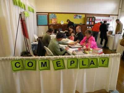 Seattle SCRABBLE Club at Seattle Bookfest 2009