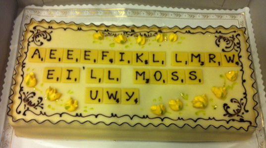 Farewell Cake for Mike Frentz